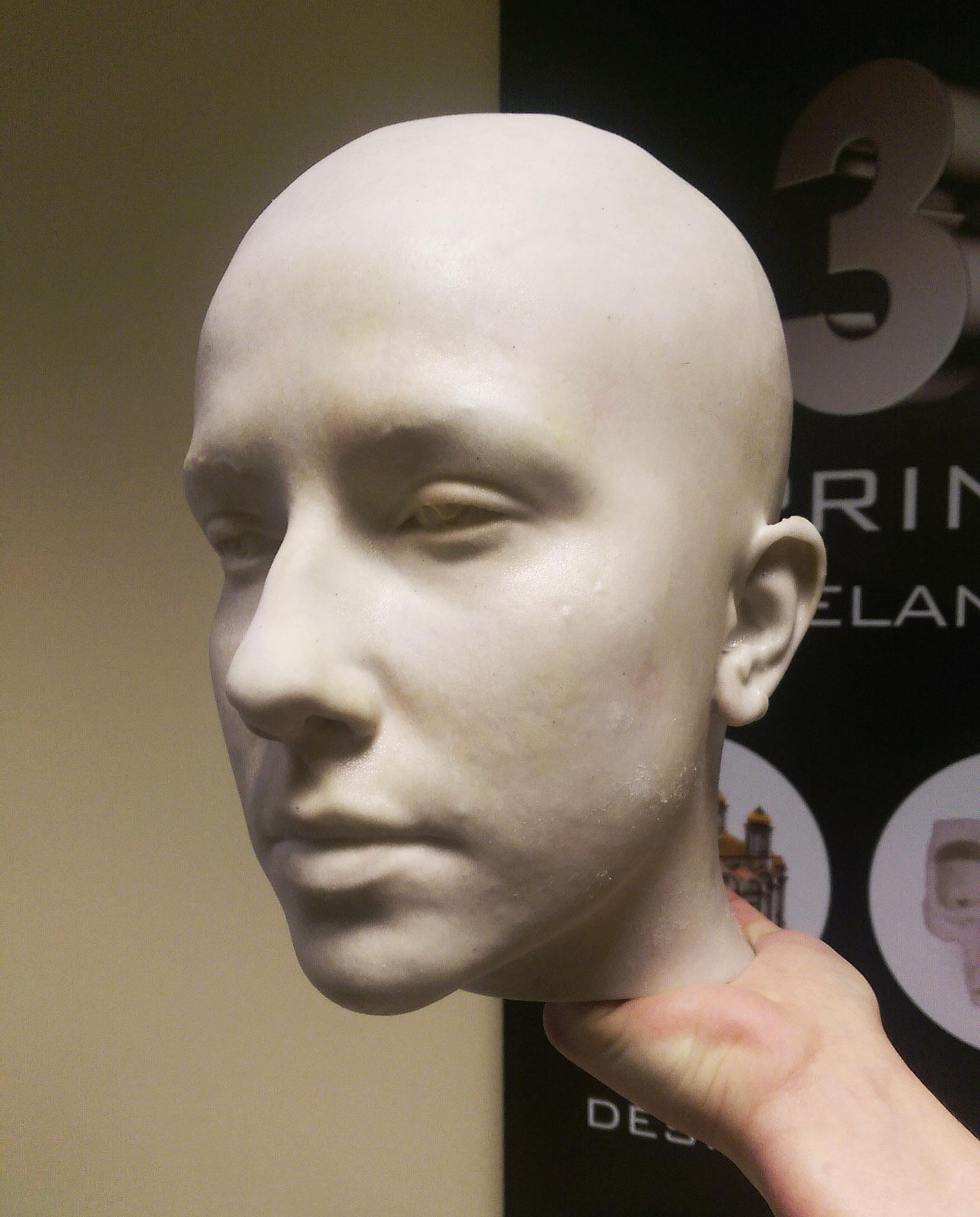 3D Scanning Ireland Dublin Film TV Prostetic