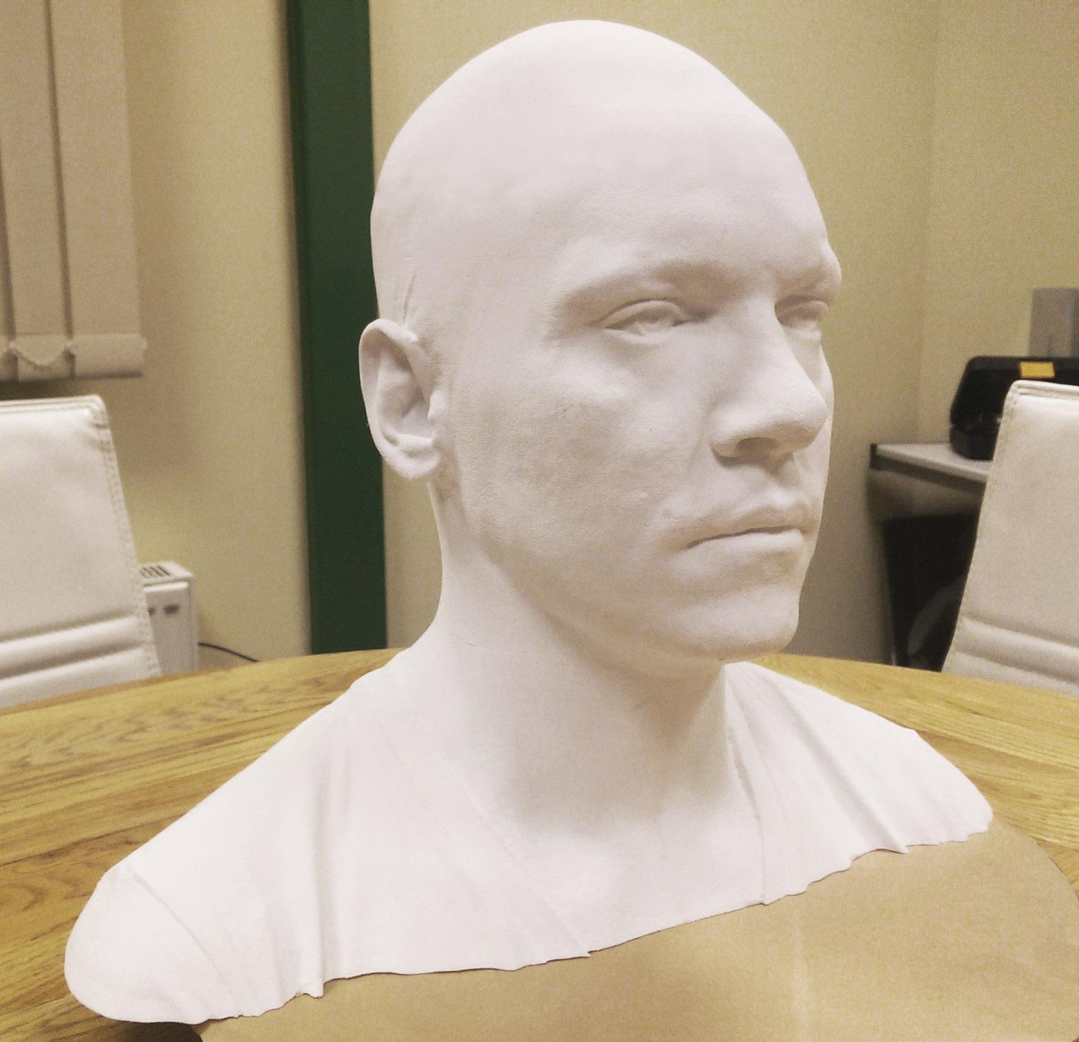 3D Scanning Ireland Dublin Scanned Bust Vikings