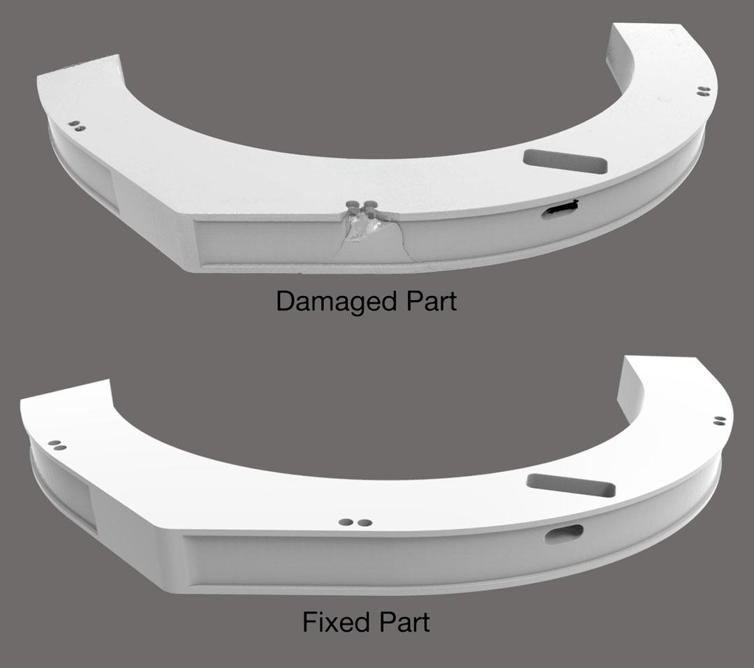 3D Scanning Ireland Dublin Quality Inspection Reverse Engineering