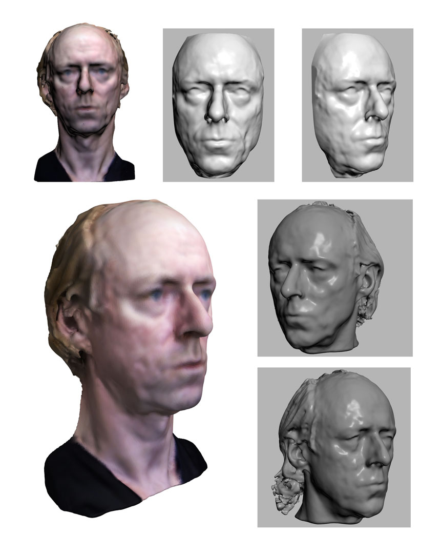 3D Scanning Ireland Dublin Celebrity